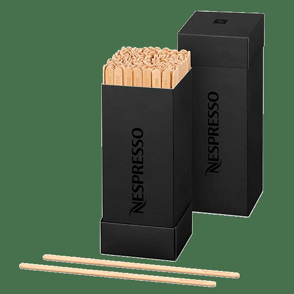 Voir Spatule en bambou Nespresso 200 pièces