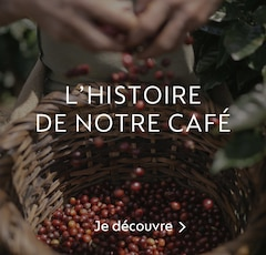 Découvrez l'histoire de notre café